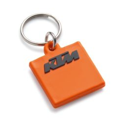 KTM LOGO RUBBER KEYHOLDER ORANGE