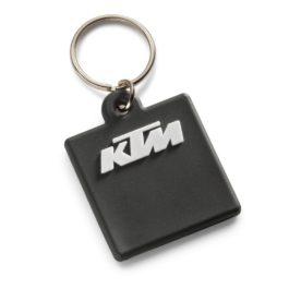 KTM LOGO RUBBER KEYHOLDER BLACK