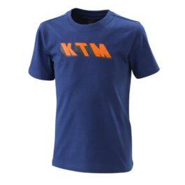 KTM RADICAL LOGO TEE BLUE