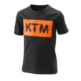KTM RADICAL LOGO TEE BLACK