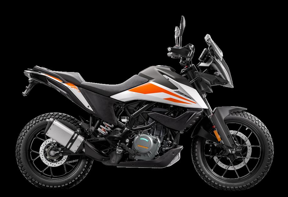 KTM 390 ADVENTURE 2020 WHITE