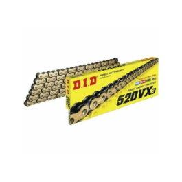 DID 520 VX-3 CHAIN 118L BLACK/GOLD