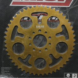 TALON KTM 50 SX REAR SPROCKET 50T GOLD 2009-2012